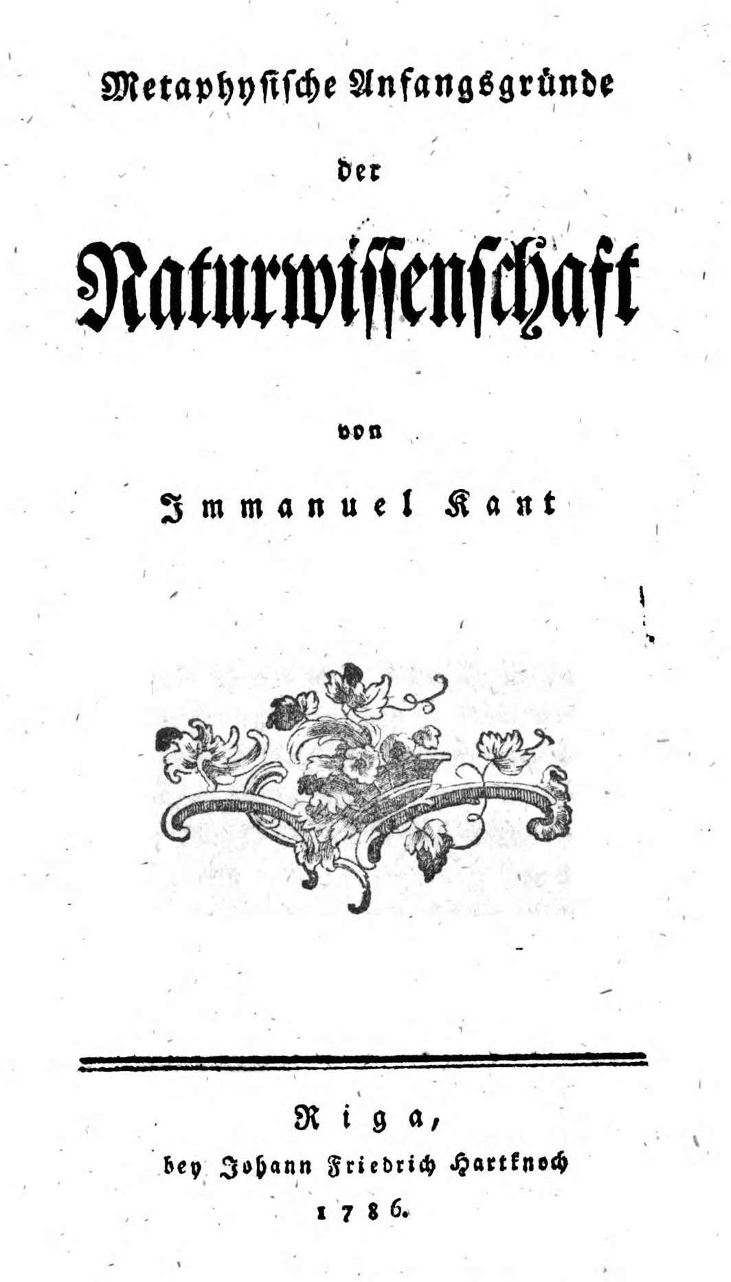 kant s writings