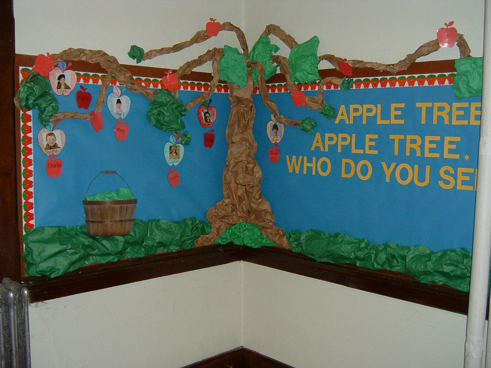 Pinterest discover and save creative ideas for Apple tree classroom decoration